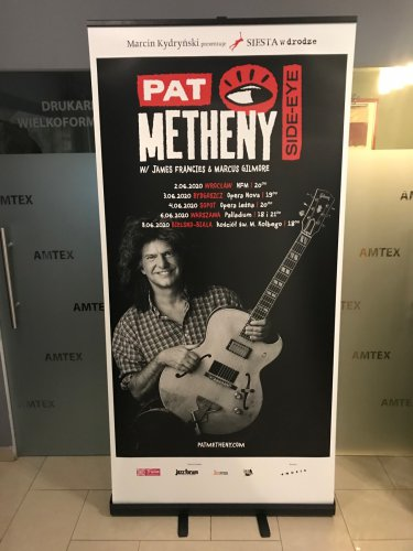 Pat Metheny Roll-up Black