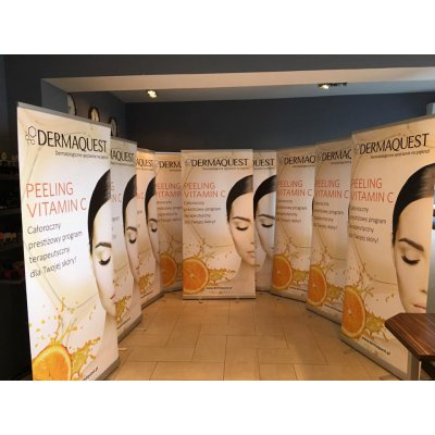 Dermaquest - Roll-up Mobilny